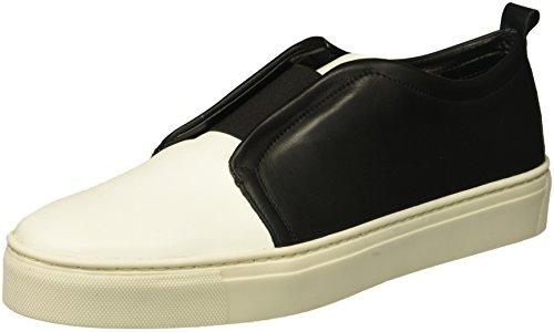 The Flexx Damen Rapture Sneaker, Weiß Schwarz Kaschmir, 41 EU