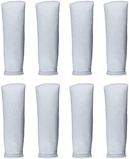 AQUA KT 200 Micro Felt Filter Bag Aquarium Filter Sock for Fish Tank, 14 Inch Length, 4 Inch Ring Diameter, Pack of 8