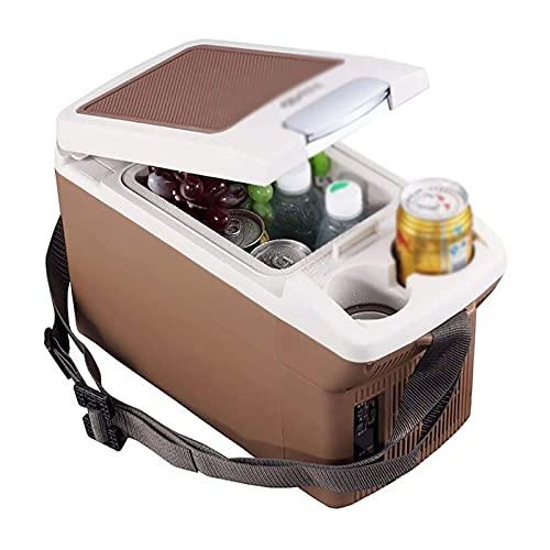 Compact Coche Refrigeradores Caliente Frío Portátil Camping Refrigerador Eléctrico Refrigerador Eléctrico Portátil Caja Congelador Frigorífico Freezer Para Familia Al Aire Libre Dormitorio Camión RV