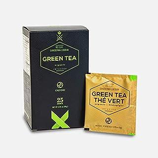 Organo Gold Green Tea with Ganoderma Lucidum (1 Box of 25 Sachets)