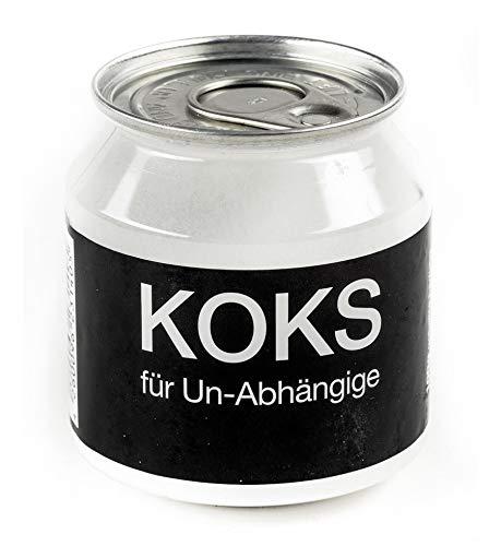 Close Up Koks für Un-Abhängige - Scherzartikel Traubenzucker Dextrose - Geschenk Spaß