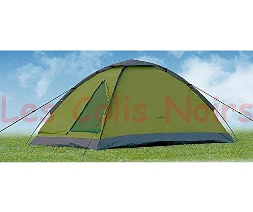 Tente Dome Vert 2 Personnes 120x200x100cm Ultra compact 1,8kg