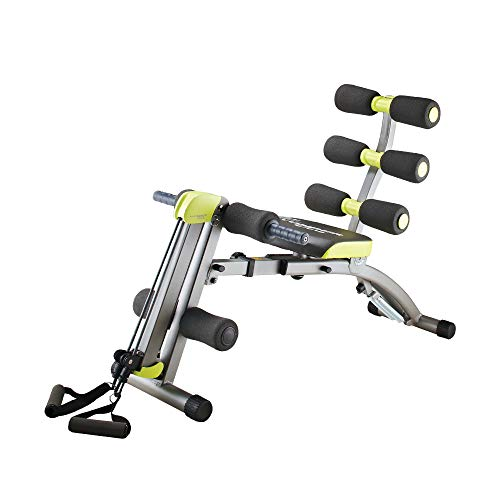 WONDER CORE II : All-in-ONE Upper Body Training - Multifunctional 12-in-1 Fitness Equipment - Sit-up Exerciser - Ergonomically Designed - Stretching Beyond 180° & 360° in Twisting