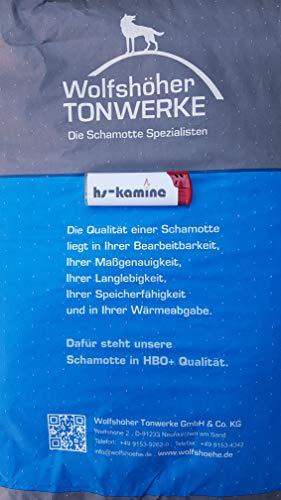 Wolfshöher Ofenbaumörtel Schamottemörtel Schamottmörtel Schamott Ofen Kamin Backofen Kachelofen...