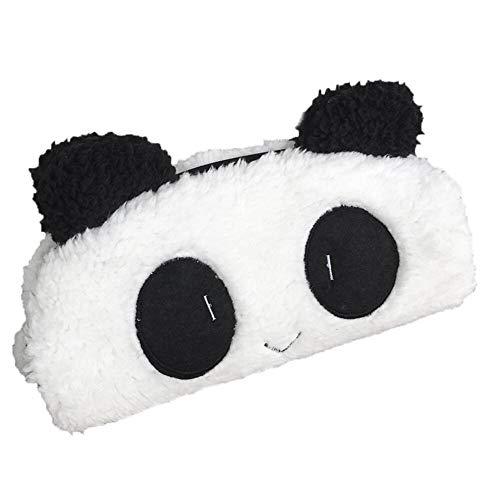 Ogquaton 3D Panda Pencil Supplies Artículo Escolar para Estuche Novedad Cute Kids Kawaii Plush