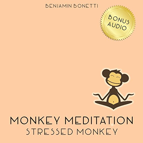 Stressed Monkey Meditation – Meditation For Reducing Stress audiobook cover art