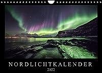 Nordlichtkalender (Wandkalender 2022 DIN A4 quer): Nordlichter, aufgenommen in Nordnorwegen (Monatskalender, 14 Seiten )