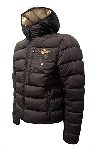 Aeronáutica Militar AB1686 - Chaqueta negra para hombre de invierno, chaqueta, pantalón, sudadera