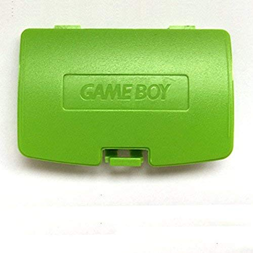 Replacement Battery Back Cover Case Door Lid for Gameboy Color GBC Game Boy Colour - Apple Green