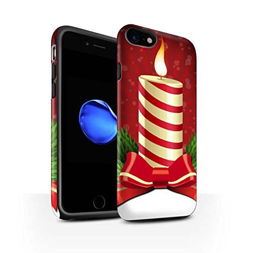 Stuff4 Telefoonhoesje/Cover/Skin/IP-3DTBM / Kerst Decoraties Collectie Apple iPhone SE 2020 Kaars/Advent