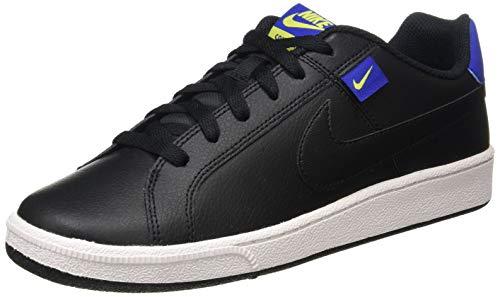 Nike Court Royale Tab, Zapatillas para Hombre, Negro/Hyper Blue-Bright Cactus White, 40 EU
