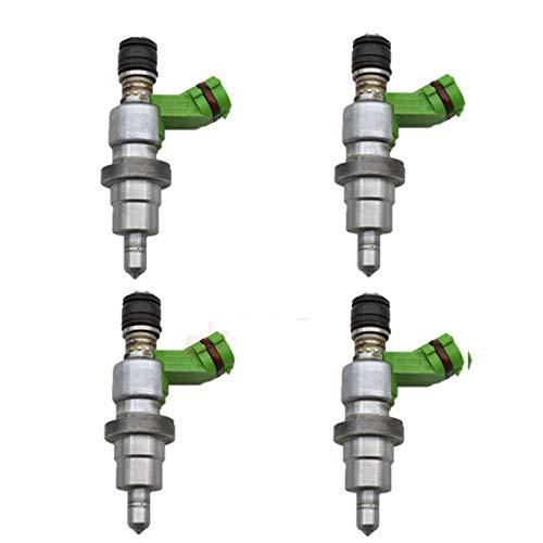 4PCS Einspritzventile for To-yo-ta 1AZ-FSE D4 AVEN-SIS RAV4 N-OAH 2.0 RAV4 Ave-nsis 2325028070 23.250-28.070, 23.209-29.065 2320929065