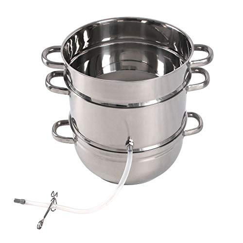 Roots & Branches Little Creek Water Distiller, 7 Quart, Stainless Steel