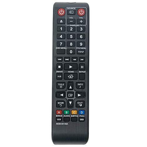VINABTY AK59-00148A Ersatzfernbedienung für Samsung Blu-ray Heimkinosystem BD-E5500 BDES6000 BD-E5900 BD-E6100 BD-ES6000 BD-E5300 BD-ES6000E BD-ES7000