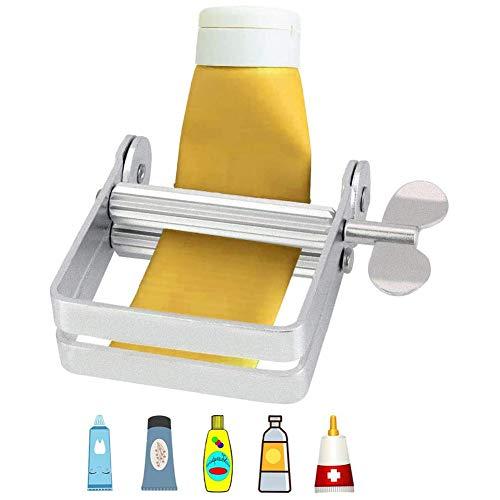 YFOX Spremiagrumi per Tubi in Metallo,erogatore Manuale per Tubi,utilizzato per spremere dentifricio, tinture per Capelli,Crema per Le Mani,Vernice,Colla.È Il Morsetto per Tubi Ideale,pressa per Tubi