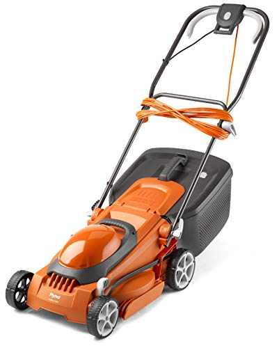 Flymo EasiStore 380R Electric Rotary Lawn Mower - 38 cm Cutting Width, 45...