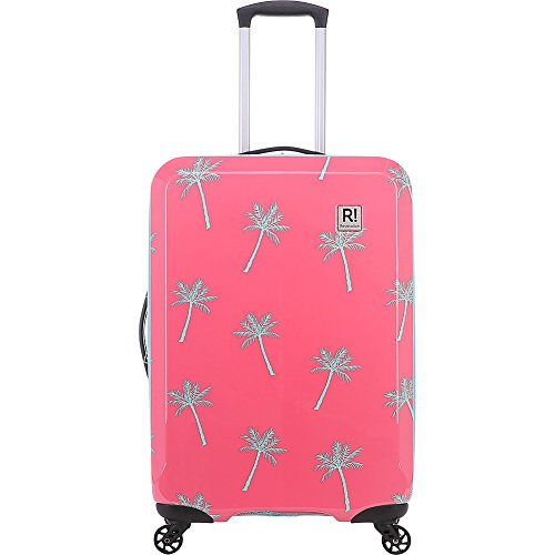 Revelation! Antigua Ba Max Palm Trees Hardside Coral 27' Expandable, Color: Pink, Size: Medium