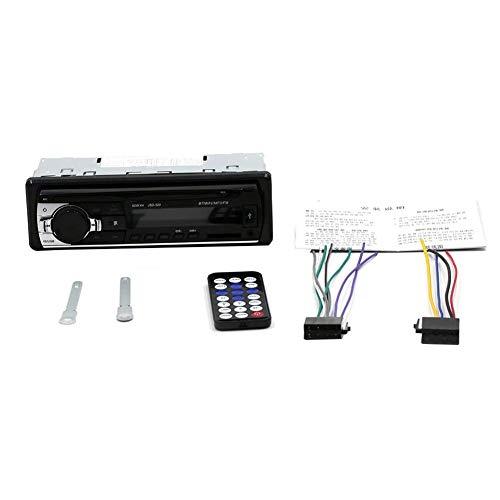 Verloco audio-speler voor auto, stereo, bluetooth, 12 V, (in-dash FM Aux, ontvanger, ondersteunt auto SD/USB/DVD/MP3 voor auto, motorfiets, huis