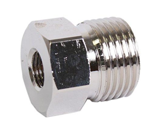 Adapter für Schutzgas-Einwegflaschen (macht die Einwegflasche zur Mehrwegflasche)