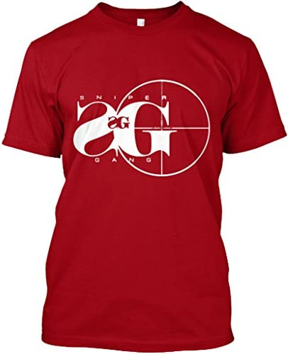 Teespring Unisex Sniper Gang Hanes Tagless T Shirt Large Deep Red product image