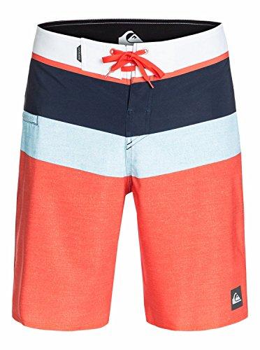 Quiksilver Short de Bain pour Homme Sunset Future 20 m bDSH Short de Bain pour garçon 38 Orange - Slater Mandarin