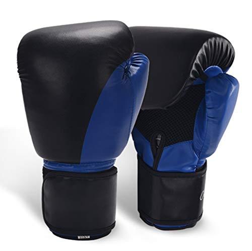 JIARUN Guantes de Boxeo para Adultos, Entrenamiento de sandbag Fighting Taekwondo MMA...