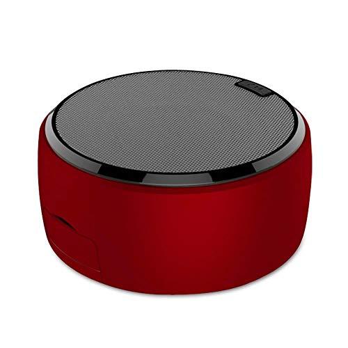 Haut-Parleur Bluetooth sans Fil avec Support De TéLéPhone Portable Mini Radio Portable 5w BoîTe à Musique BoîTe A Sons Basse Son Surround 3D Hi-FI pour Les Voyages en Plein Air, Camping, FêTe Noir
