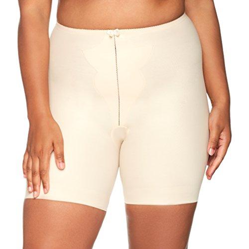 Naturana Damen Long Leg Panty Girdle Miederslip, beige, (Hersteller Größe:XXXX-Large)