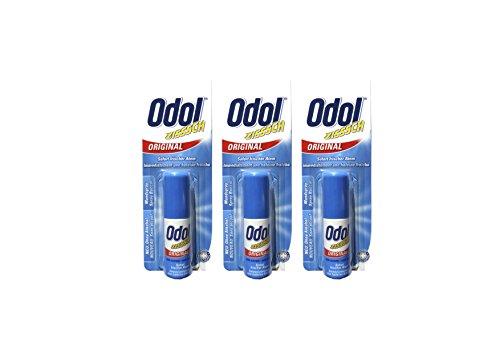 3x Odol Mundspray ORIGINAL 15ml Ohne Alkohol für frischen Atem