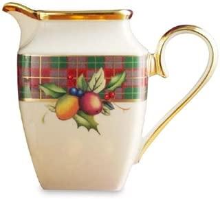 lenox holiday tartan sugar bowl