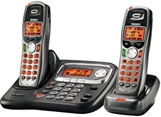 Uniden TRU9465-2 5.8 GHz Digital Expandable Cordless Phone with Dual Keypad and Extra Handset