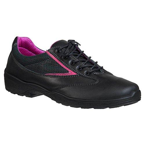 Ejendals 1102–40Größe 101,6cm Jalas Viola 2.799,1cm Sicherheit Low Schuhe–Schwarz/Pink