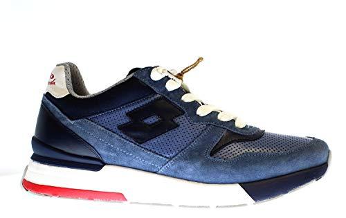 Lotto Leggenda 214028 - Zapatillas deportivas, color Azul, talla 43 EU