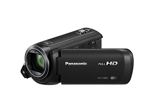 Panasonic HC-V380, Videocamera Full HD, Nero