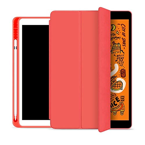 QINYUP per iPad PRO 11 12.9 2020 2018 Custodia Smart Cover Magnetica Ultra Sottile per iPad 10.2 2019 Air 10.5 PRO 11-Red 11 2020