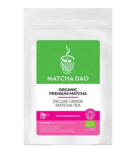 Premium Organic Matcha 30G | Deluxe Grade Matcha Tea | Natural & Healthy Green Tea