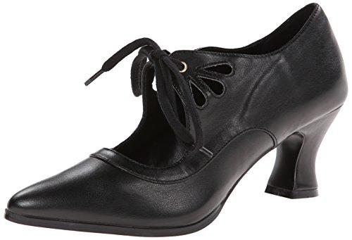Funtasma Women's Victorian-03 Boot, Black Polyurethane, 9 M US
