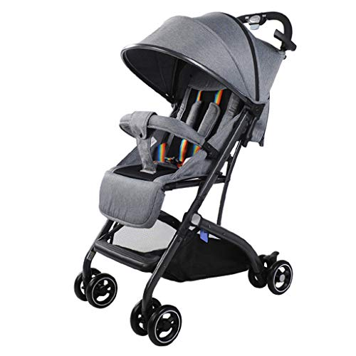 New Variable Trolley Case Baby Stroller Adjustable High View Pushchair Travel System - 49 56 cm (Com...