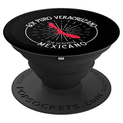 Soy Puro Veracruzano Por Herencia Mexicano Veracruz Mexico PopSockets Grip and Stand for Phones and Tablets