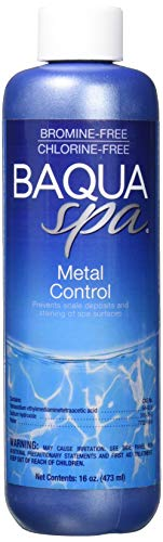 Price comparison product image Baqua Spa 88821 Metal Control Spa and Hot Tub Cleanser,  16 oz
