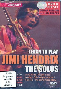 Learn to play Jimi Hendrix (DVD+CD): The Solos