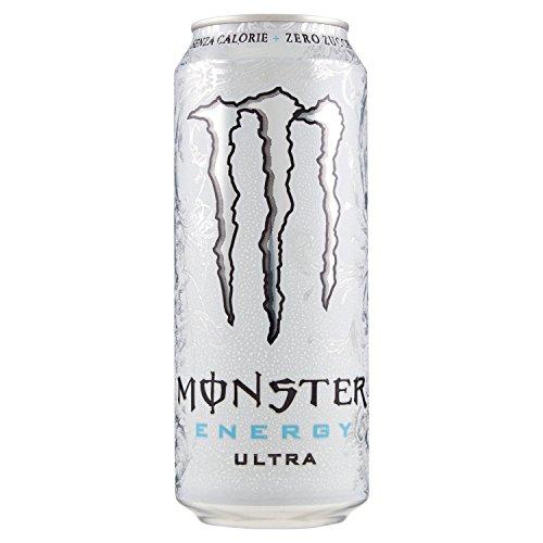 Monster Bevanda Energetica Zero Zuccheri - Lattina, 500 ml