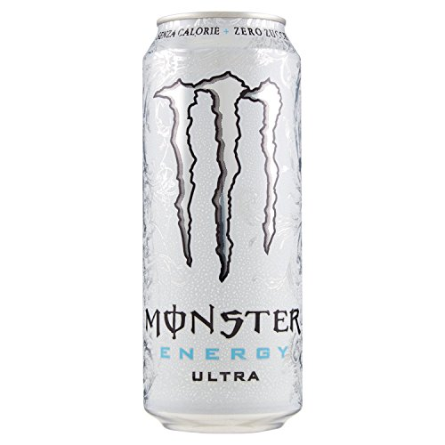 Monster Energy Drink Ultra Zero Calorie Zero Zuccheri 500 ml - 1 lattina