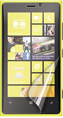 Muvit MUSCP0282 - Lote de 2 protectores de pantalla antihuellas para Nokia...