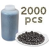 ZIBY Slingshot Ammo Balls 2000 Pcs, Biodegradable Clay Slingshot Ammo,...