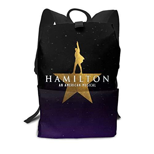 Homebe Laptop Backpack for Women Men, Hamilton Drama School College Bookbag for Girls Boys Fashion Travel Back Pack