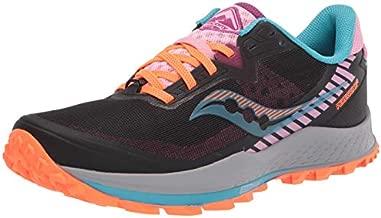 Saucony Women's Peregrine 11 Trail Running Shoe, Future Black