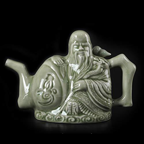 Puzzle Pythagoras Cup, Pythagoras Fair Cup, Pythagorean Cup, Cup of Justice, Gieriger Cup, Teekanne des Assasins, Traditionelle Chinesische Teekanne, Magische Requisiten(Size:The Assassin's Teapot)