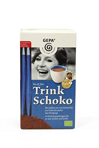 Gepa Bio und Fair Trink Schoko, 5er Pack (5 x 250 g)