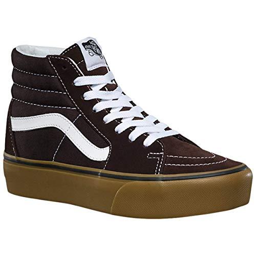 VANS SK8-HI Platform 2 Zapatos Deportivos para MUIER Marron VN0A3TKNUCC1